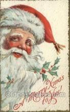hol002893 - Santa Claus Holiday Christmas Post Cards Postcard