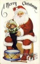 hol002900 - Santa Claus Holiday Christmas Post Cards Postcard