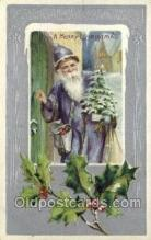 hol002908 - Santa Claus Holiday Christmas Post Cards Postcard