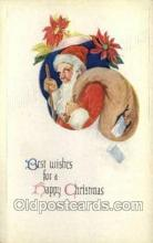 hol002913 - Santa Claus Holiday Christmas Post Cards Postcard