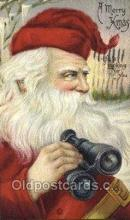 hol002967 - Santa Claus, Christmas, Old Vintage Antique Postcard Post Card