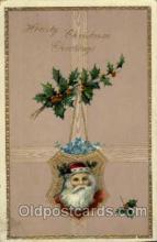 hol003039 - Christmas Santa Claus Postcard Postcards