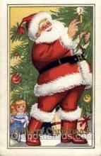 hol003040 - Christmas Santa Claus Postcard Postcards
