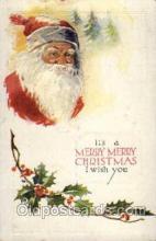 hol003042 - Christmas Santa Claus Postcard Postcards