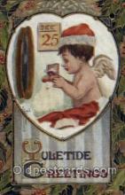hol003051 - Christmas Santa Claus Postcard Postcards