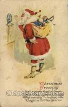hol003052 - Christmas Santa Claus Postcard Postcards