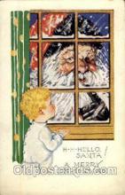 hol003060 - Christmas Santa Claus Postcard Postcards