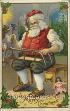 hol003061 - Christmas Santa Claus Postcard Postcards