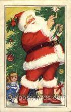hol003062 - Christmas Santa Claus Postcard Postcards