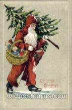 hol003067 - Christmas Santa Claus Postcard Postcards