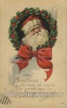 hol003069 - Christmas Santa Claus Postcard Postcards