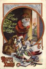 hol003076 - Christmas Santa Claus Postcard Postcards