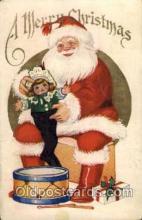 hol003084 - Christmas Santa Claus Postcard Postcards