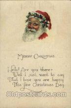hol003085 - Christmas Santa Claus Postcard Postcards