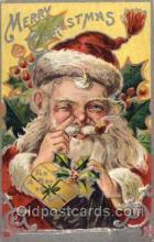 hol003086 - Christmas Santa Claus Postcard Postcards