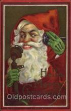 hol003088 - Christmas Santa Claus Postcard Postcards
