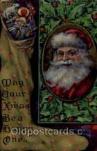 hol003092 - Christmas Santa Claus Postcard Postcards