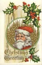 hol003094 - Christmas Santa Claus Postcard Postcards