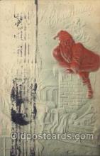 hol003107 - Christmas Santa Claus Postcard Postcards