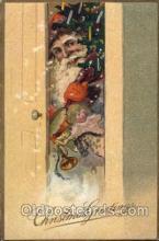 hol003114 - Christmas Santa Claus Postcard Postcards