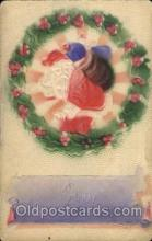 hol003119 - Christmas Santa Claus Postcard Postcards