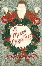 hol003120 - Christmas Santa Claus Postcard Postcards