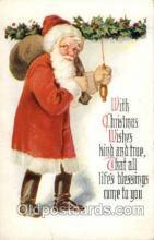 hol003125 - Christmas Santa Claus Postcard Postcards