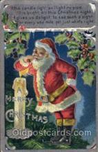hol003130 - Christmas Santa Claus Postcard Postcards