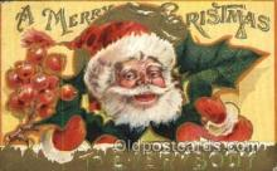 hol003143 - Christmas Santa Claus Postcard Postcards