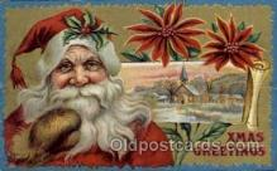 hol003159 - Christmas Santa Claus Postcard Postcards