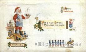 hol003164 - Christmas Santa Claus Postcard Postcards