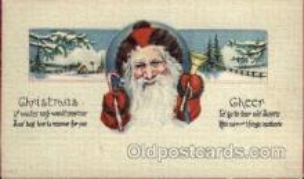 hol003181 - Christmas Santa Claus Postcard Postcards