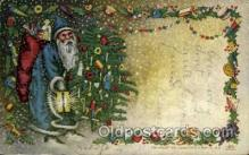 hol003183 - Christmas Santa Claus Postcard Postcards