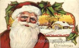 hol003185 - Christmas Santa Claus Postcard Postcards