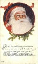 hol003194 - Christmas, Santa Claus Postcard Post card