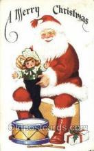 hol003201 - Christmas, Santa Claus Postcard Post card