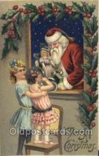 hol003205 - Christmas, Santa Claus Postcard Post card