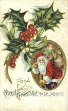 hol003206 - Christmas, Santa Claus Postcard Post card