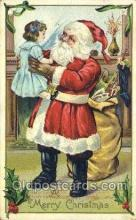 hol003209 - Christmas, Santa Claus Postcard Post card