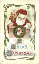 hol003213 - Christmas, Santa Claus Postcard Post card