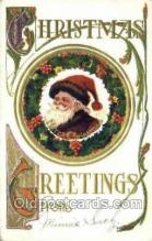 hol003222 - Christmas, Santa Claus Postcard Post card