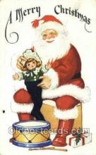 hol003224 - Christmas, Santa Claus Postcard Post card