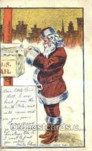 hol003226 - Christmas, Santa Claus Postcard Post card