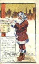 hol003226 - Christmas, Santa Claus Postcard Post card