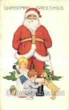 hol003230 - Christmas, Santa Claus Postcard Post card