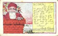 hol003235 - Christmas, Santa Claus Postcard Post card