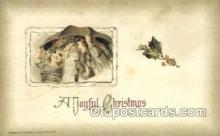 hol003239 - Publisher John Winsch Artist Schmucker, Christmas, Santa Claus Postcard Post card