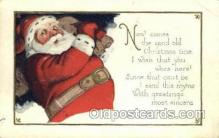 hol003240 - Christmas, Santa Claus Postcard Post card