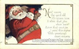 hol003240 - Christmas, Santa Claus Postcard Post card