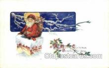 hol003241 - Christmas, Santa Claus Postcard Post card